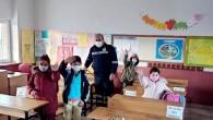 Toroslar'da yüz yüze eğitimin başladığı okullar dezenfekte edildi