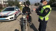 Mersin'de kural ihlali yapan sürücülere ceza yağdı