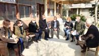 Başkan Bozdoğan hafta sonu 39 köyü ziyaret etti