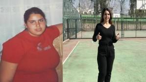 Annesi ağlayarak istedi, 5 ayda 38 kilo verdi