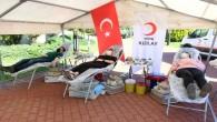 Yenişehir belediyesi personelinden kan ve kök hürce bağışı