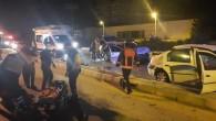 İki otomobil kafa kafaya çarpıştı: 1'i ağır 9 yaralı