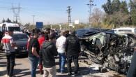Tarsus 'ta zincirleme kaza: 4 yaralı
