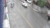 Otomobil küçük kıza çarptı