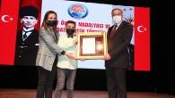 Mersin'de 5 şehit ailesi ile 6 gaziye 'Devlet Övünç Madalyası' verildi