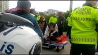 Polise mukavemette bulunan sürücü gözaltına alındı