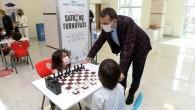 Miniklere satranç eğitimi turnuvayla son buldu
