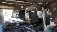 Mut'ta iş yeri yangını