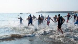 Yenişehir'de triatlon heyecanı yaşandı