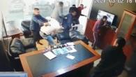 Galerideki kanlı saldırı kamerada