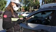 Kırmızı ışık ihlali yapan 184 sürücüye ceza yazıldı