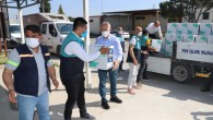 Akdeniz Belediyesinden ihtiyaç sahibi ailelere gıda desteği