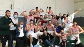Mersin Büyükşehir Belediyesi GSK Erkek Basket Takımı, Türkiye Basketbol 1. Ligi'ne yükseldi