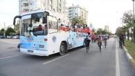 Yenişehir'de 23 Nisan coşkusu sokaklara taştı