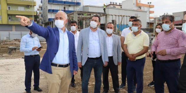 """Başkan Gültak: """"Akdeniz'i sporun merkezi yapacağız"""""""
