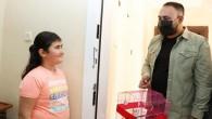 Küçük Melisa'ya Başkan Yılmaz'dan sürpriz