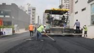 Toroslar'da asfalt çalışmaları sürüyor
