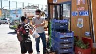 Tarsus Belediyesi, halka yenidünya dağıtmaya devam ediyor