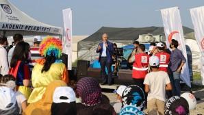 Akdeniz Belediyesinden 'Dünya Mülteciler Günü'nde muhteşem etkinlik
