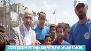 Akdeniz Belediyespor Amatör Takımının yeni antrenörü İzzet Kızgın