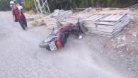 Motosikletin çarptığı 5 yaşındaki çocuk yaralandı