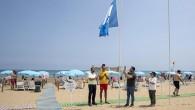 Kızkalesi Halk Plajı 'Mavi Bayrak' aldı