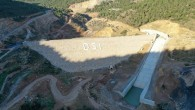 Aydıncık Barajında çalışmalar devam ediyor