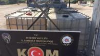 24 bin litre gümrük kaçağı motorin ele geçirildi
