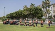 Büyükşehir Belediyesi, 106 yeni çim biçme makinesi aldı