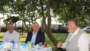 Başkan Gültak'tan Alevi kanaat önderlerine Gadir-i Hum ziyareti