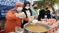 Akdeniz Belediyesinden Muharrem Ayı etkinliğinde aşure ikramı