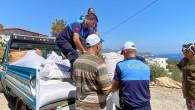 Akdeniz Belediyesi, yangın bölgesinde yaraları sarmaya devam ediyor