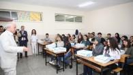 Akdeniz Belediyesinden öğrencilere rehberlik desteği
