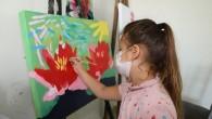 Akdenizli çocuklar sanatla buluşuyor