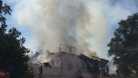 Tarsus'ta tarihi ev yandı