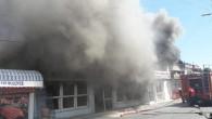 Tarsus'ta iki ayrı yerde yangın