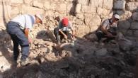 Aratos'un anıt mezarında 'dromos'a ulaşıldı