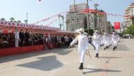 Mersin'de 30 Ağustos Zafer Bayramı coşkuyla kutlandı