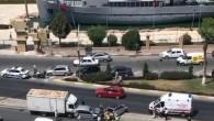 Tarsus'ta 6 araç zincirleme kazaya karıştı: 3 yaralı