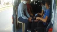 Mersin'de korsan taşımacılık yapan 53 araç trafikten men edildi
