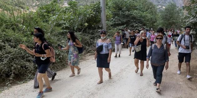'Doğa Bizi Çağırıyor' etkinliği Kayacı Vadisinde devam etti