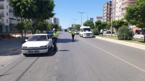 Mersin'de çevreyi rahatsız eden 2 bin 139 araç trafikten men edildi