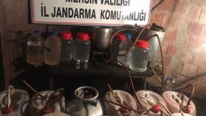 336 litre sahte içki ele geçirildi