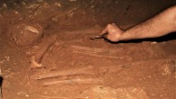 Antik kent Anemurium'da bir mezarda 2 bin yıllık 4 insan iskeleti bulundu