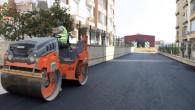 Toroslar'da yol yenileme çalışmaları sürüyor