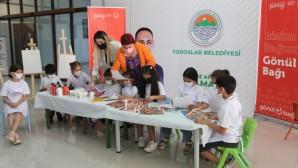 Toroslar Belediyesi, çocukları 'Hayal Tasarım Atölyesi'nde buluşturuyor