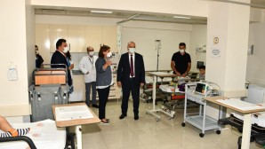 MEÜ Tıp Fakültesi Hastanesi Çocuk Acil Ek Servisi hizmete açıldı