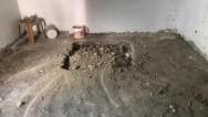 Metruk binada izinsiz kazıya soruşturma başlatıldı